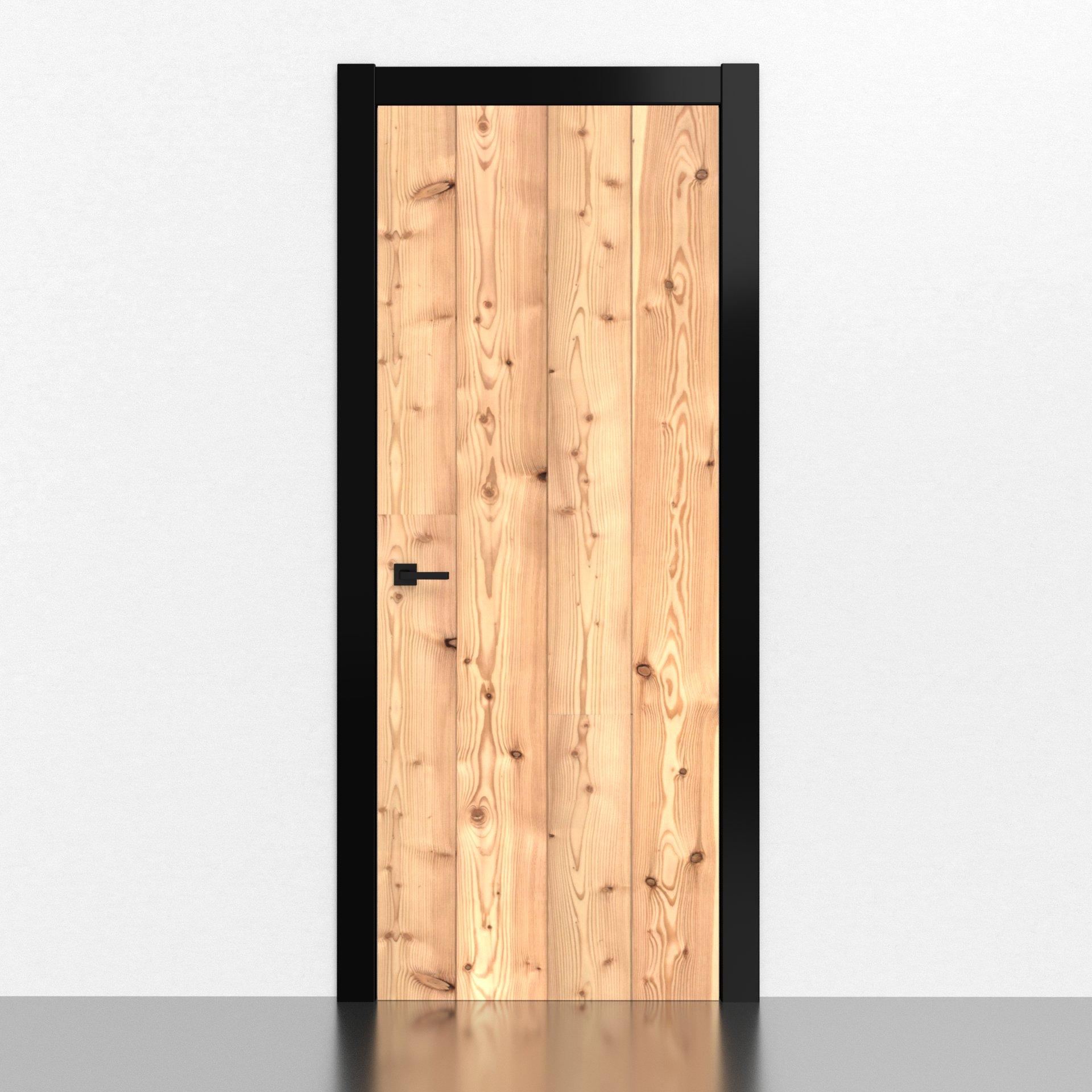 Decorazione per porte d'interni adesiva
